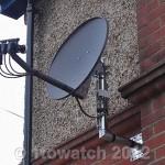 multi-satellite installation