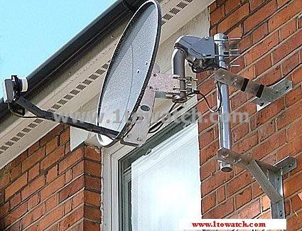 Compact Motorised Dish 1towatch Aerial And Satellite